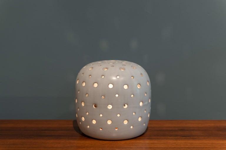 Mid-20th Century Scandinavian Modern Ceramic Table Lamp For Sale
