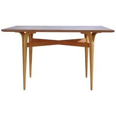 Scandinavian Modern Cleft-Leg Table by Bruno Mathsson for Karl Mathsson, 1961
