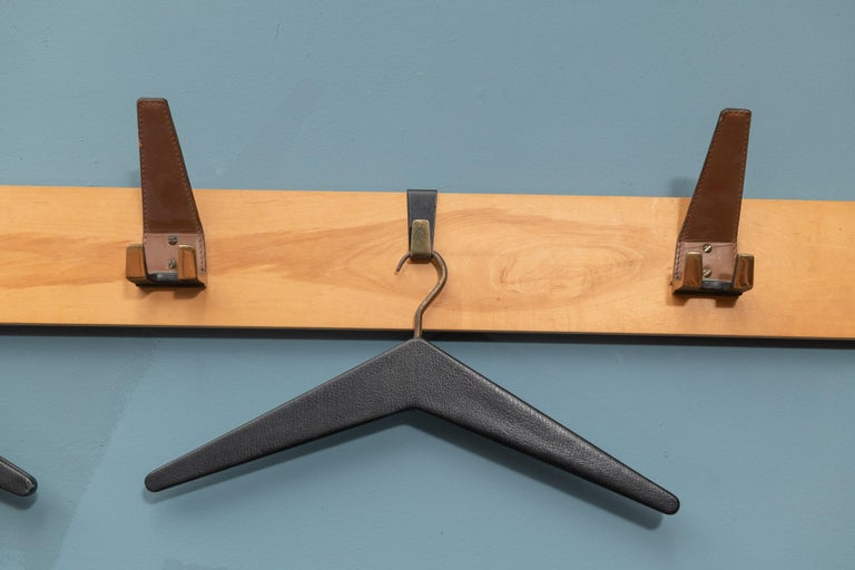 Danish Scandinavian Modern Coat Rack For Sale