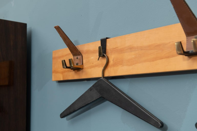 Scandinavian Modern Coat Rack In Good Condition For Sale In San Francisco, CA