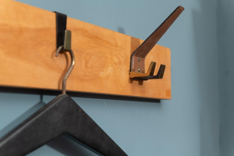 Mid-20th Century Scandinavian Modern Coat Rack For Sale