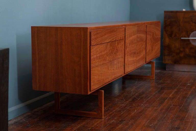 Teak Scandinavian Modern Credenza MK511 by Arne Hovmand Olsen for Mogens Kold For Sale