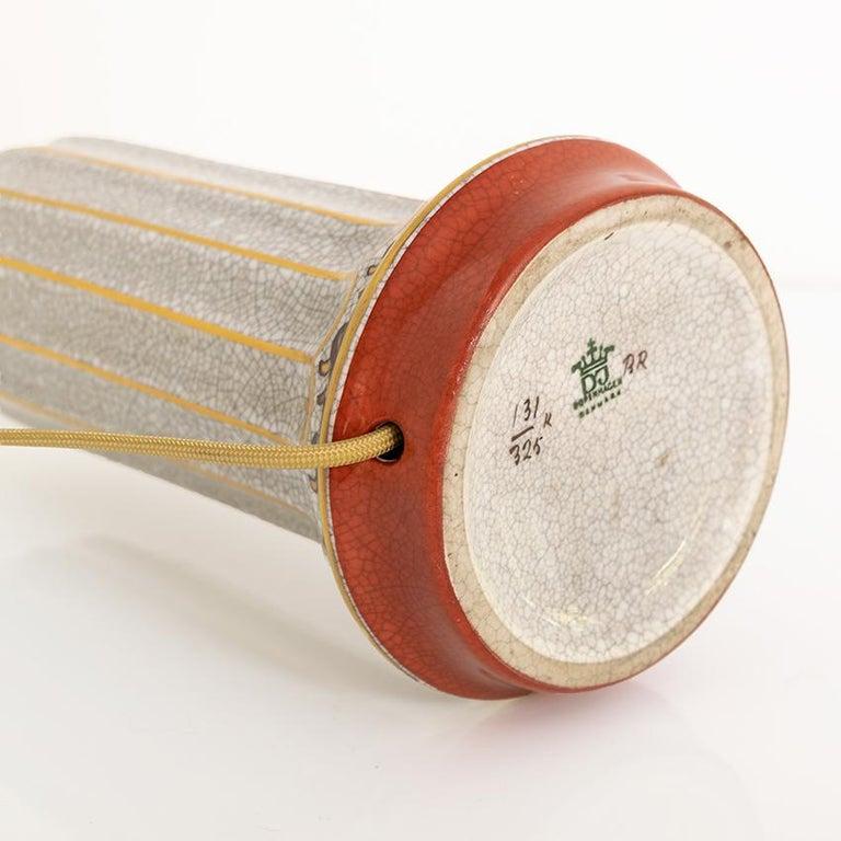 Scandinavian Modern Dahl-Jensen, Danish Art Deco Porcelain Lamps For Sale 2