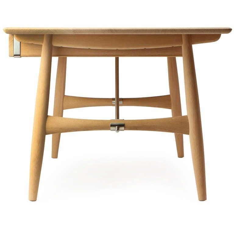Contemporary Scandinavian Modern Danish the 'Architect's Desk by Hans J. Wegner for PP Mobler For Sale