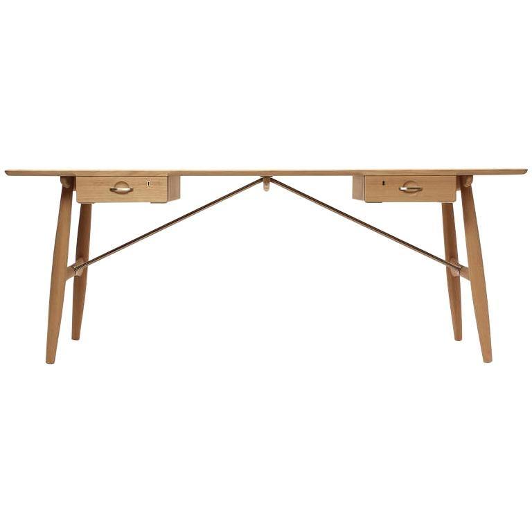 Scandinavian Modern Danish the 'Architect's Desk by Hans J. Wegner for PP Mobler For Sale