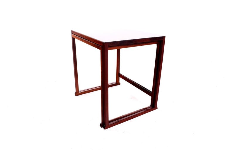 Mid-Century Modern Scandinavian Modern Danish Nesting Tables in Rosewood For Sale