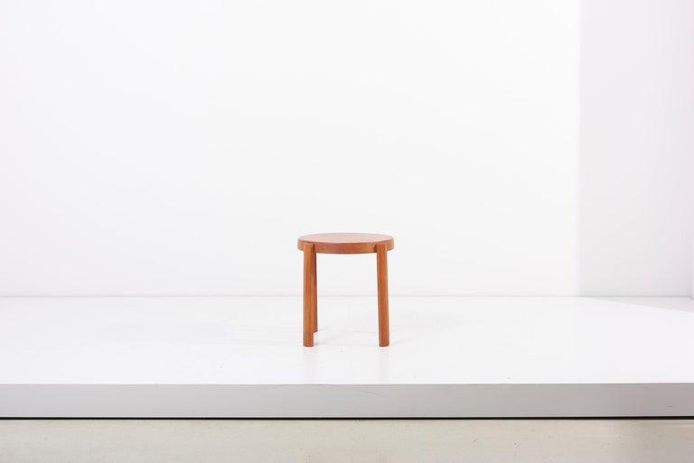 Mid-Century Modern Scandinavian Modern Danish Teak Side Table by Mobelfabrikken Toften For Sale