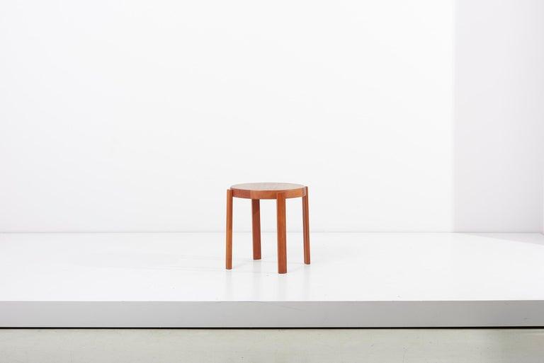 Scandinavian Modern Danish Teak Side Table by Mobelfabrikken Toften In Good Condition For Sale In Berlin, DE
