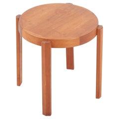 Scandinavian Modern Danish Teak Side Table by Mobelfabrikken Toften