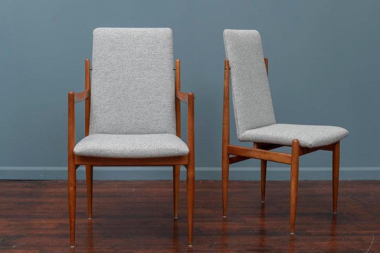 Danish Scandinavian Modern Dining Chairs For Sale