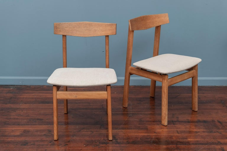 Swedish Scandinavian Modern Dining Chairs For Sale