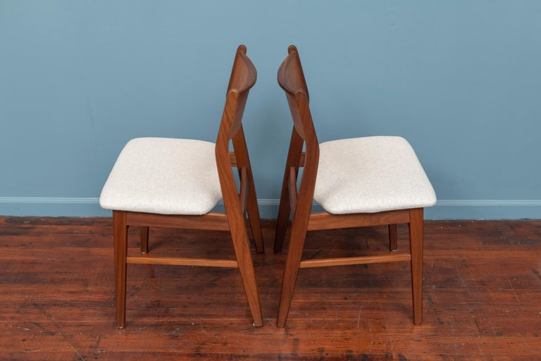 Scandinavian Modern Dining Chairs In Good Condition In San Francisco, CA