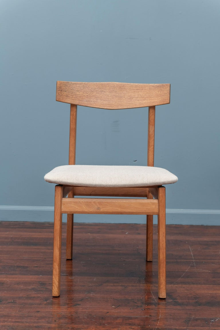 Scandinavian Modern Dining Chairs In Good Condition For Sale In San Francisco, CA