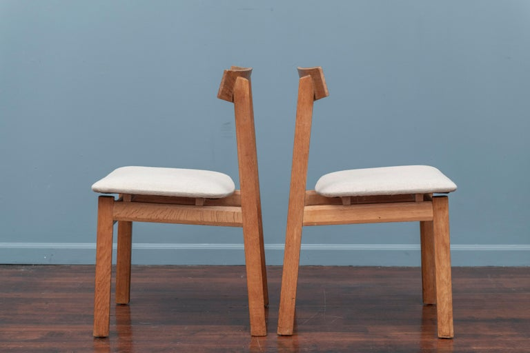 Late 20th Century Scandinavian Modern Dining Chairs For Sale