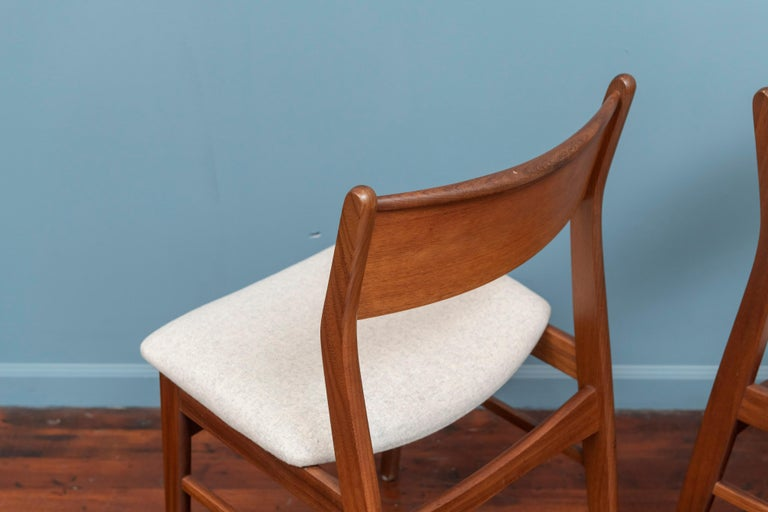 Teak Scandinavian Modern Dining Chairs