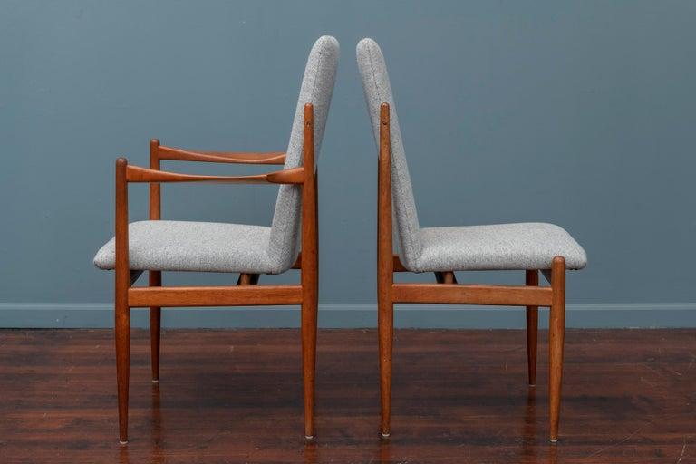 Scandinavian Modern Dining Chairs For Sale 1
