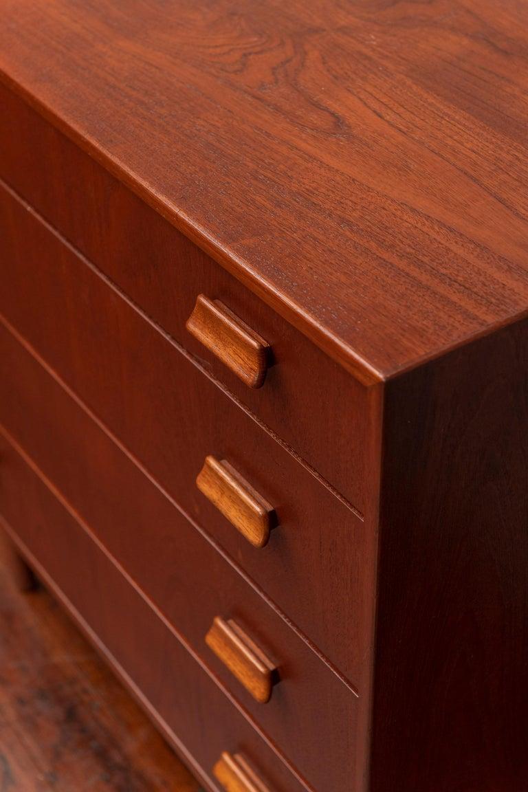 Danish Scandinavian Modern Dresser by Torben Strandgaard For Sale