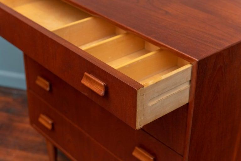 Mid-20th Century Scandinavian Modern Dresser by Torben Strandgaard For Sale