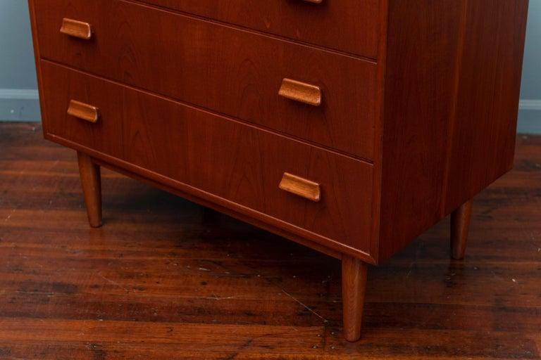 Teak Scandinavian Modern Dresser by Torben Strandgaard For Sale
