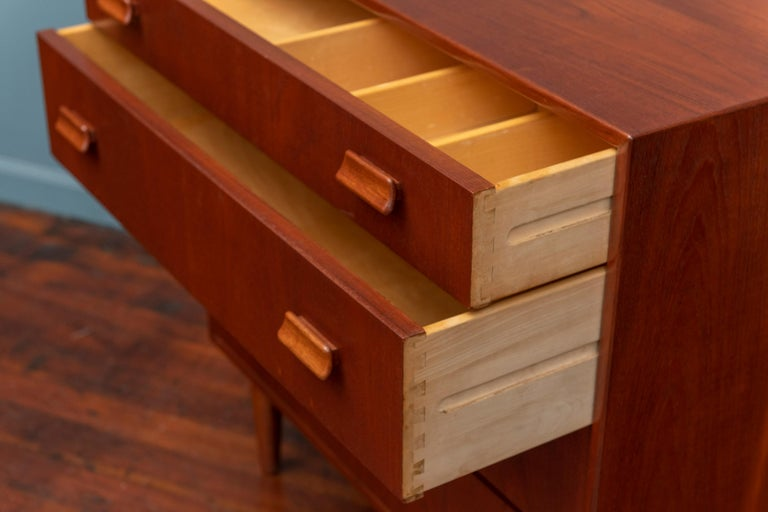 Scandinavian Modern Dresser by Torben Strandgaard For Sale 2