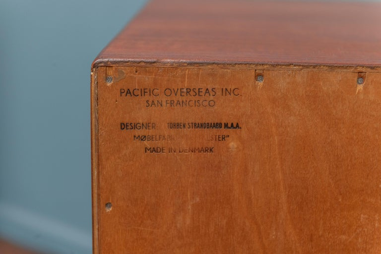 Scandinavian Modern Dresser by Torben Strandgaard For Sale 3
