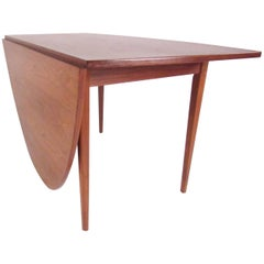 Scandinavian Modern Drop-Leaf Table