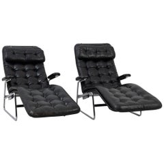 Scandinavian Modern Fenix Lounge Chairs for DUX