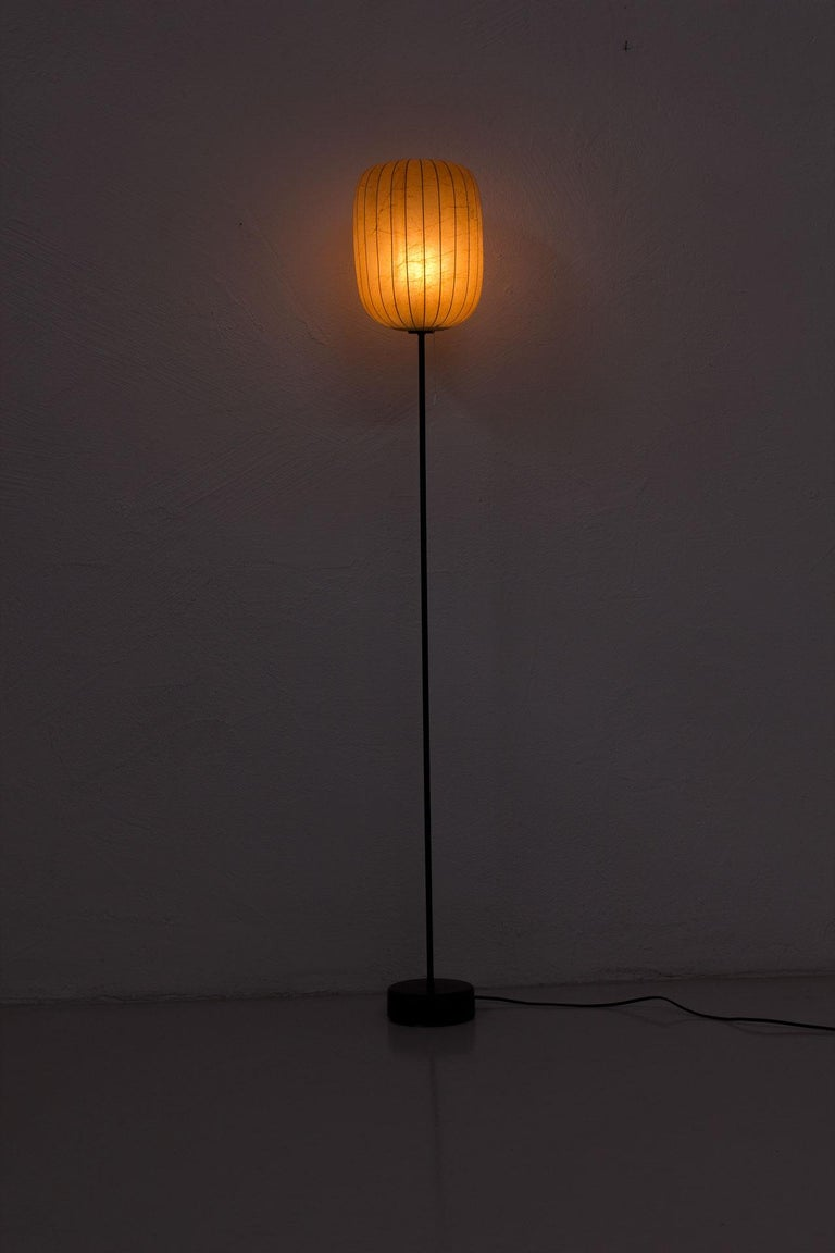 Scandinavian Modern Floor Lamp by Hans Bergström for Ateljé Lyktan, Sweden For Sale 4