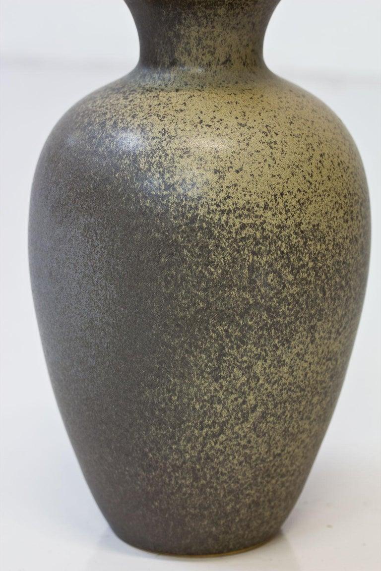Scandinavian Modern Floor Vase in Stoneware, Sweden, 1960s For Sale 1