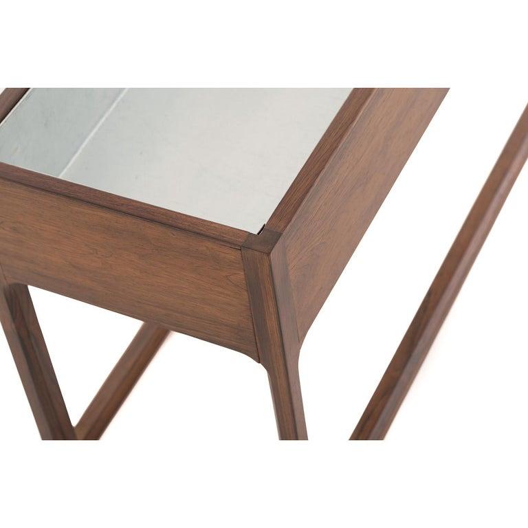 Lacquered Scandinavian Modern Frame Based Planter For Sale