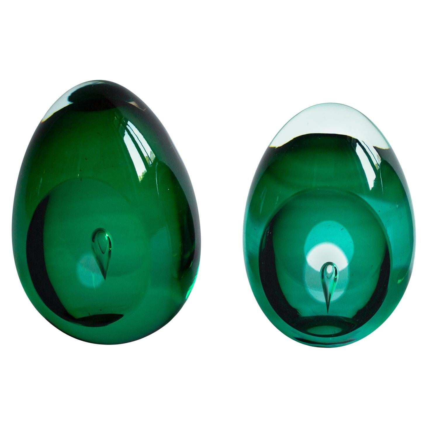 Scandinavian Modern Glass Sculpture by Swedish Designer Mona Morales-Schildt
