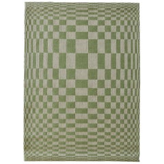 Scandinavian Modern Handwoven Swedish Wall Tapestry