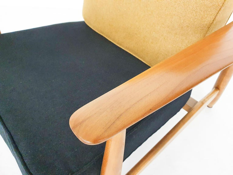 Scandinavian Modern Lounge Chair Attributed Alf Svensson, 1960s For Sale 5