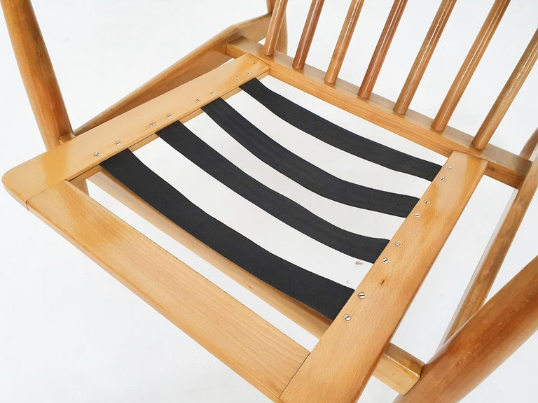 Scandinavian Modern Lounge Chair Attributed Alf Svensson, 1960s For Sale 7