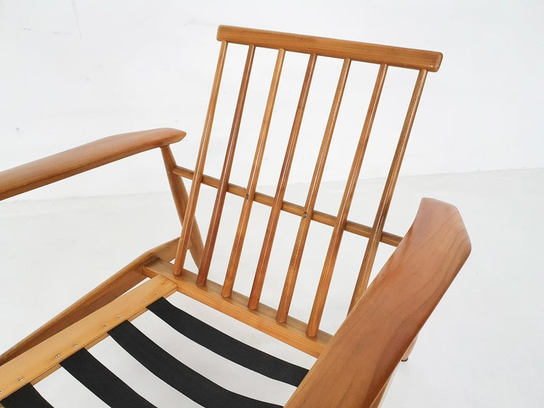 Scandinavian Modern Lounge Chair Attributed Alf Svensson, 1960s For Sale 8