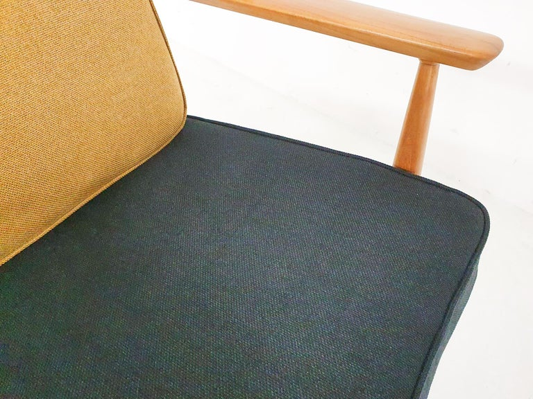 Scandinavian Modern Lounge Chair Attributed Alf Svensson, 1960s For Sale 3