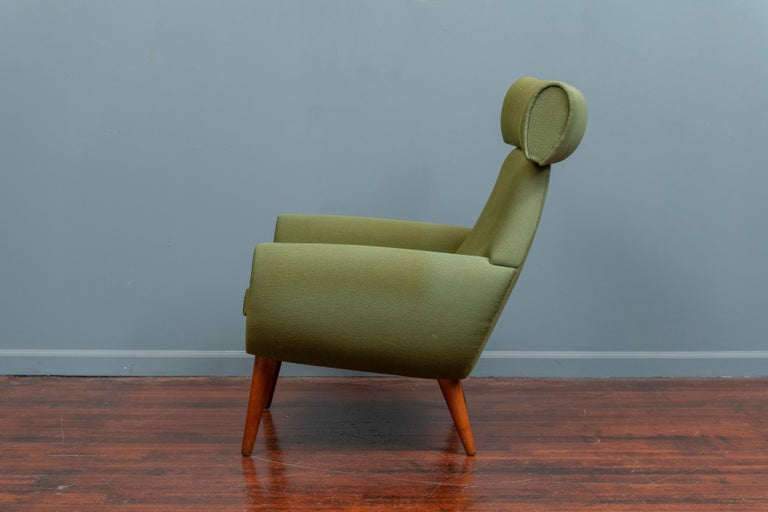 Scandinavian Modern Lounge Chair by Kurt Ostervig In Good Condition For Sale In San Francisco, CA