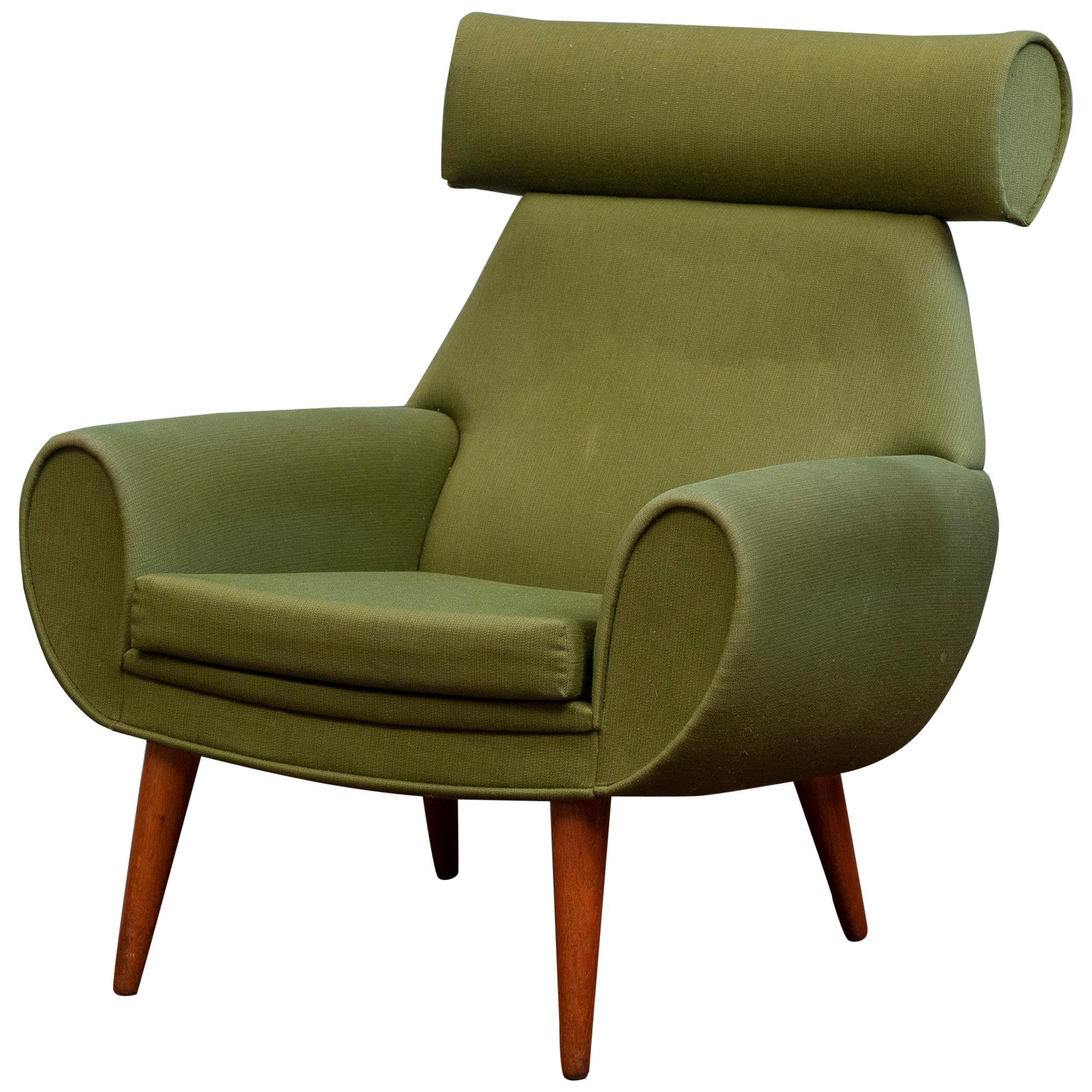 Scandinavian Modern Lounge Chair by Kurt Ostervig