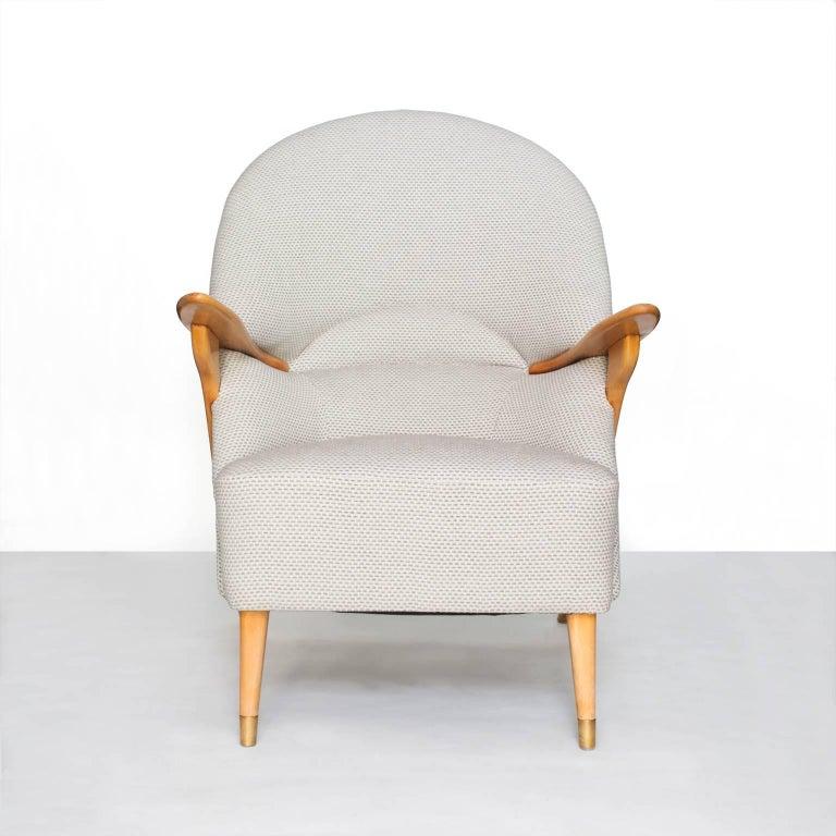 20th Century Scandinavian Modern Lounge Chair by Svante Skogh for Säffle Möbelfabrik For Sale