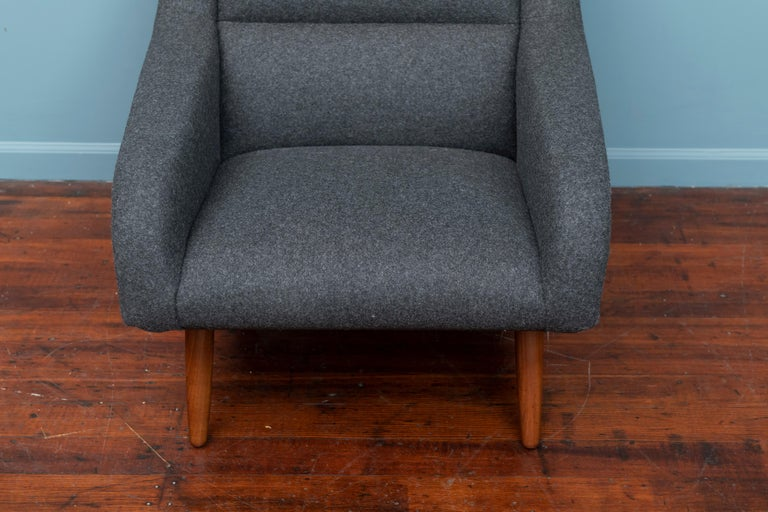 Danish Scandinavian Modern Lounge Chair For Sale