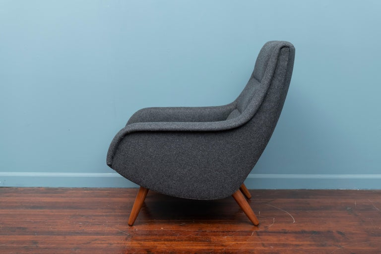 Scandinavian Modern Lounge Chair In Good Condition For Sale In San Francisco, CA