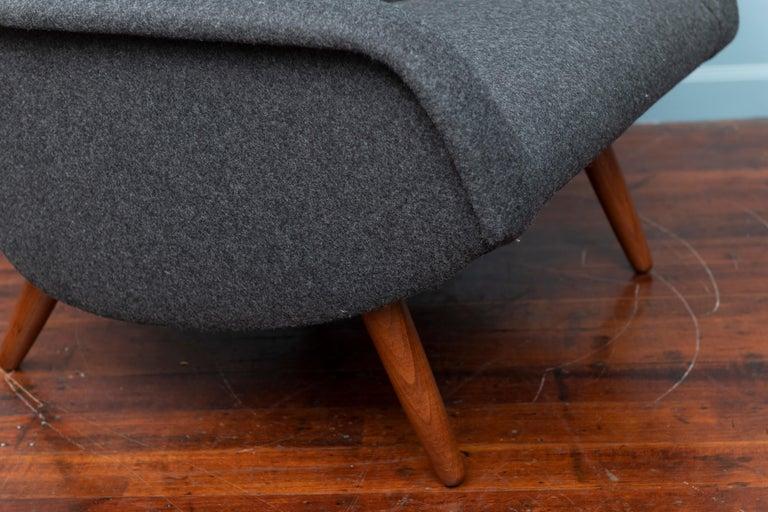Scandinavian Modern Lounge Chair For Sale 3