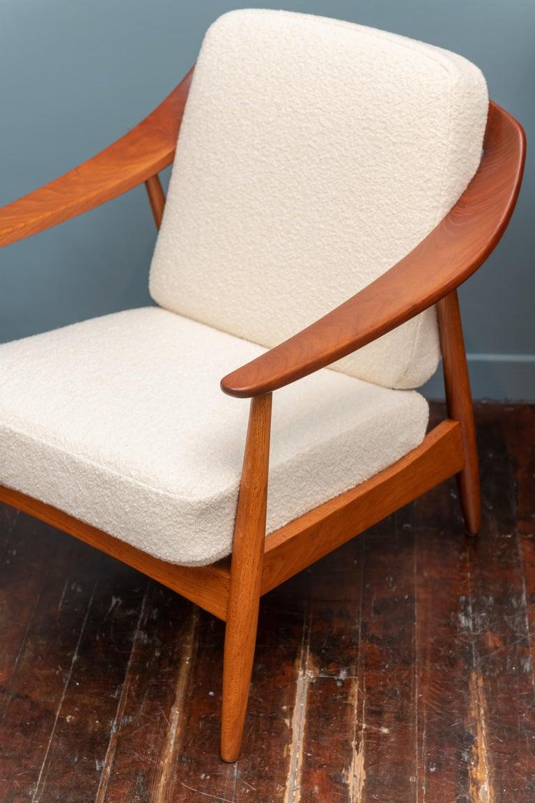 Danish Scandinavian Modern Lounge Chairs For Sale