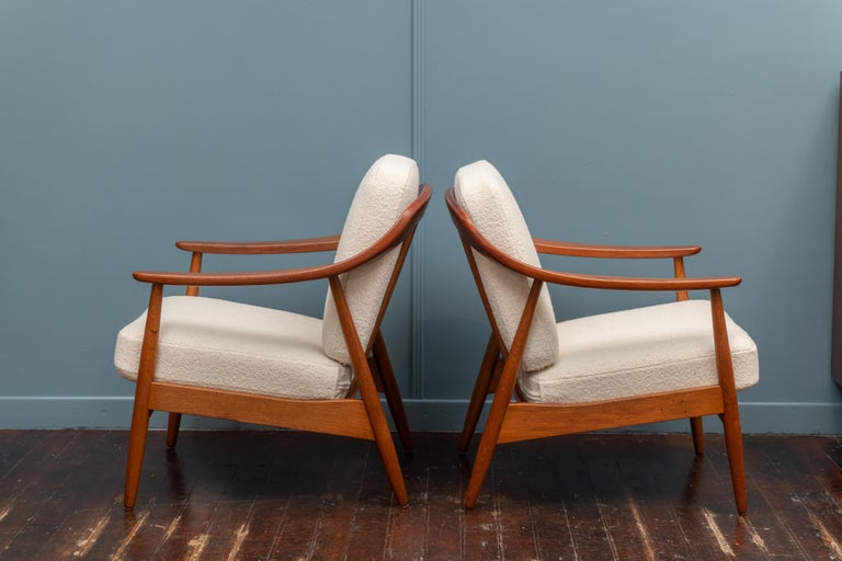 Mid-20th Century Scandinavian Modern Lounge Chairs For Sale