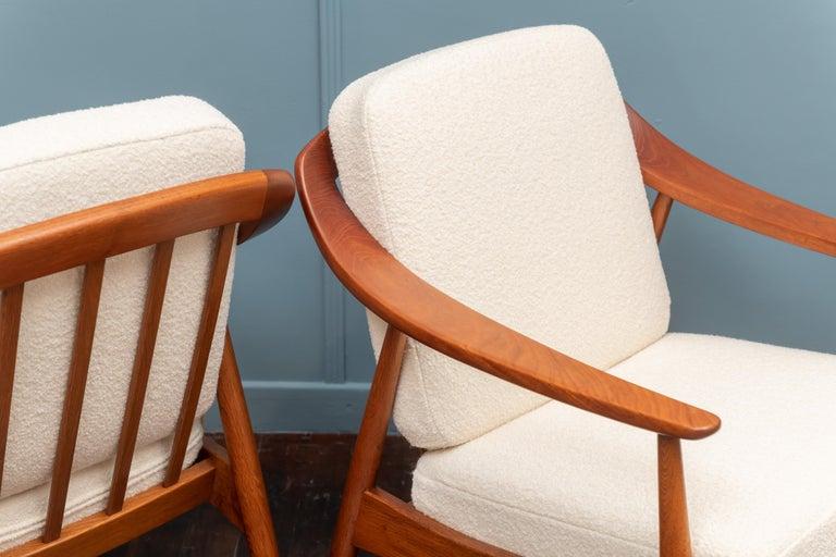Scandinavian Modern Lounge Chairs For Sale 2