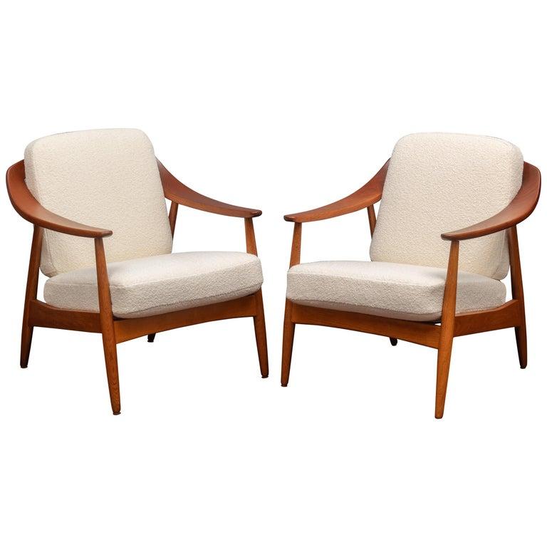 Scandinavian Modern Lounge Chairs For Sale