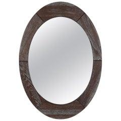 Scandinavian Modern Mirror by Pedersen & Hansen
