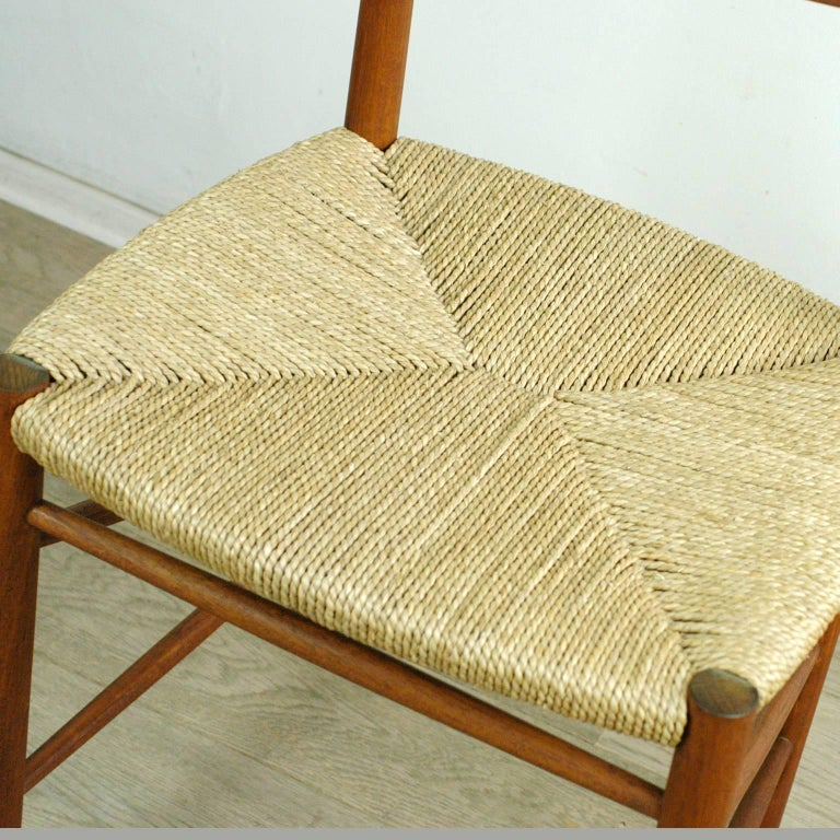 Mid-20th Century Scandinavian Modern Mod. 316 Teak Dining Chair by Peter Hvidt for Soborg For Sale