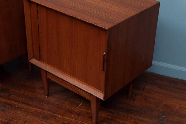 Danish Scandinavian Modern Nightstands by Falster For Sale