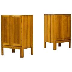 Scandinavian Modern Oregon Pine Cabinets by Børge  Mogensen, 1960s, Set of 2